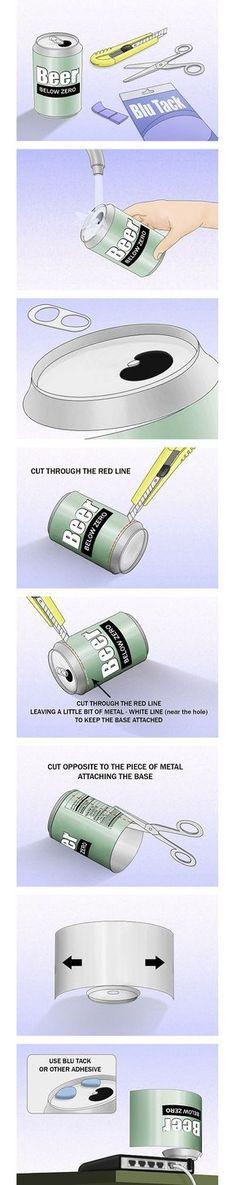 wifi [DIY] Augmentez la portée de votre wifi avec une canette de bière...