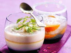 Découvrez la recette Verrines de foie gras aux châtaignes sur cuisineactuelle.fr.