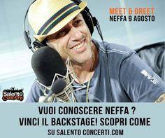 Vuoi conoscere #Neffa? Vinci il backstage di #Otranto! Clicca sull'immagine e scopri come...