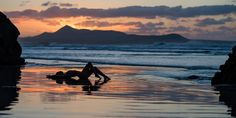 Magical Sunset - Anuschka on the Island of Lanzarote School Photography, Erotic Photography, Travel Photography, In This Moment, Island, Mountains, Landscape, Places, Outdoor