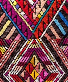 Kin Folk | Liberty of London Wawa Cushion Embroidery
