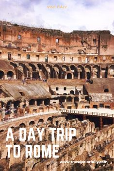 Rome wasn't built in a day. But if you're interested in a highlight tour here it is, Travel Tips For Europe, Italy Travel Tips, Rome Travel, Travel Usa, European Destination, European Travel, Beautiful Places To Visit, Cool Places To Visit, Travel Guides