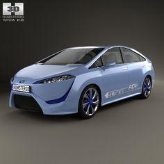 3D Toyota Fcv R Fcv - 3D Model
