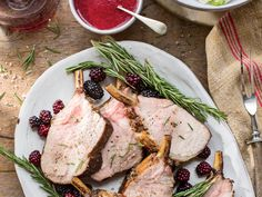 Grilled Pork Loin with Blackberry Glaze - 24 Recipes to Savor the Flavors of Summer - Southernliving. Recipe: Grilled Pork Loin with Blackberry Glaze Grilling Recipes, Pork Recipes, Grilling Tips, Picnic Recipes, Smoker Recipes, Ww Recipes, Recipies, Best Pork Loin Recipe, Grilled Pork Loin