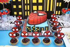 Fiesta temática del hombre araña - Spiderman themed party