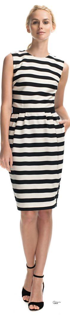 Malene Birger ● striped  dress