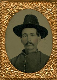 Milton H. Sweet, from Brighton, Iowa. 2nd Iowa Cavalry, Company A
