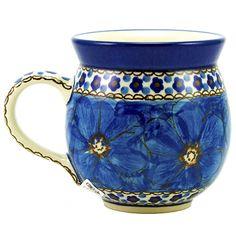 Unikat Polish Pottery Stoneware Gentlemen's Mug U408 - 16oz