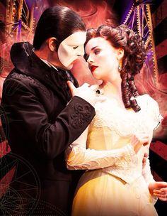 The phantom of the opera (Christine & Erik the phantom of the opera)