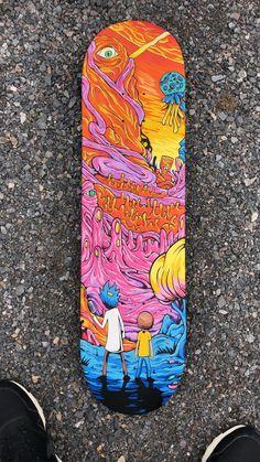 Custom skateboard i made months ago. Informations About Custom skateboard i made months ago. Painted Skateboard, Skateboard Deck Art, Skateboard Design, Skateboard Girl, Custom Skateboard Decks, Skateboard Parts, Custom Skateboards, Cool Skateboards, Custom Longboards