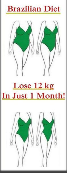 A MUST TRY BRAZILIAN DIET – LOSE 12 KG IN 1 MONTH!!!! - Check This Awesome Article !!!