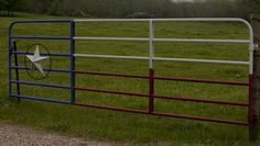 Ranch Decor, Texas Flags, Dream Barn, Backyard Ideas, Gates, Wood Crafts, Fence, Outdoors, Pure Products