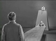 The Obsolete Man - In a future totalitarian society, a librarian is declared obsolete and sentenced to death.  (Season 2, Episode 29)