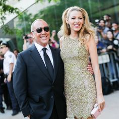 Michael Kors and Blake Lively at the 2014 CFDA Fashion Awards  @michaelkors