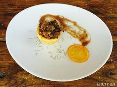 Patata Frita rellena de Ossobuco