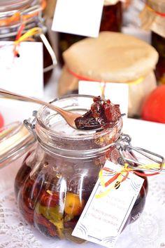 kuchnia w czekoladzie: Suszone pomidory z bazylią i czosnkiem