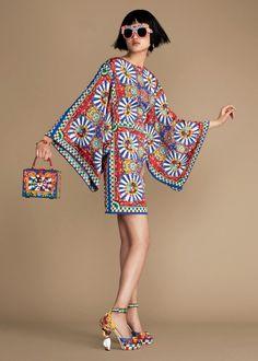 Dolce & Gabbana Женская Карретто Сицилиано Коллекция Лето 2016   Дольче Габбана