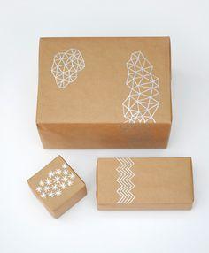 Hand drawn giftwrap  #christmas giftwrap  #D.I.Y.