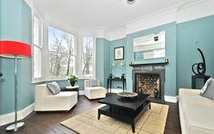 Download wallpapers 4k, living room, blue design, old apartment, blue room, interior idea, modern design