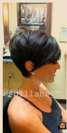 Nice Short Hair Cut