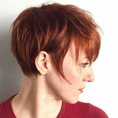 Longer pixie cut bangs - Google Search