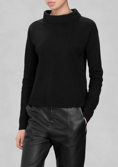 & Other Stories   Wide Collar Sweater