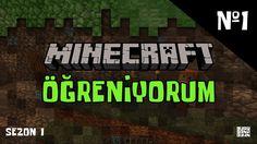 Minecraft Öğreniyorum | Minecraft Türkçe Survival Mode | S1 #1