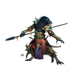 Ravenfolk Warrior by BryanSyme.deviantart.com on @DeviantArt
