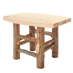 The Vermont Side Table- Vermont Cedar Chair Company