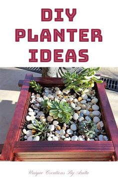 Are you looking for ideas for using up you scrap wood?  This wooden planter is an easy and quick planter to build.  This tutorial will show you how step by step.