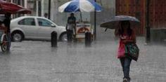 Se prevén lluvias torrenciales para este jueves y viernes