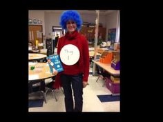 Dress Like A Book Character Day- 2013 - YouTube