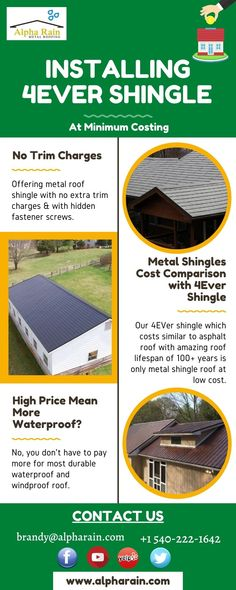Metal Roof Shingles With No Trim Charges Alpha Rain In 2020 Metal Shingle Roof Metal Roof Metal Shingles