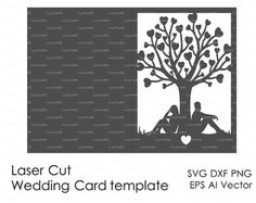 RSVP Accommodation card 4x 6 Template Swirls by EasyCutPrintPD