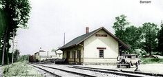 Bantam, CT depot New York, New Haven & Hartford