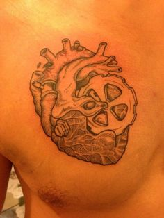 Anatomical heart whole new meaning to wear one 39 s heart on for Ftw tattoo meaning