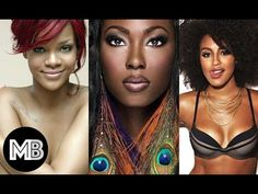 Top 10 Most Beautiful Black Female Celebrity in the World !