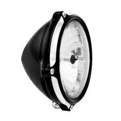 Vintage Headlight - Motorcycle Parts And Accessories - Roland Sands Design Cafe Racer Headlight, Motorcycle Headlight, Cafe Racer Parts, Roland Sands, Custom Cafe Racer, Riding Gear, Motorcycle Parts And Accessories, Scrambler, Motorbikes