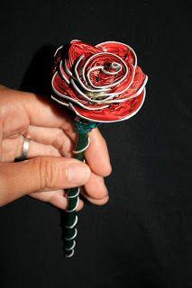 BIJUTERIA NAÏF: Rosa nespresso