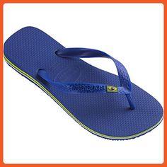 c08d5cd3f1316 Havaianas Mens Sandals Brasil Marine Blue 8 9 MaB - Sandals for women ( .  Blue Flip FlopsMens ...