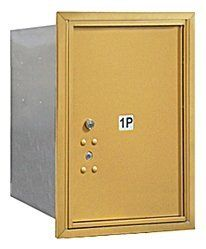 4C Horizontal Mailbox (Includes Master Commercial Lock) - 6 Door High Unit (23 1/2 Inches) - Single Column - Stand-Alone Parcel Locker - 1 PL6 - Gold - Rear Loading - Private Access by Salsbury Industries. $201.12. 4C Horizontal Mailbox (Includes Master Commercial Lock) - 6 Door High Unit (23 1/2 Inches) - Single Column - Stand-Alone Parcel Locker - 1 PL6 - Gold - Rear Loading - Private Access - Salsbury Industries - 820996442765. Save 11%!