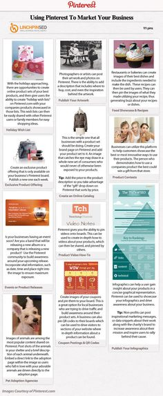 [INFOGRAPHIC] Ideas For Marketing Your Products Using Pinterest.com