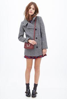 Tweed Pea Coat | Allison Argent Style #teenwolf
