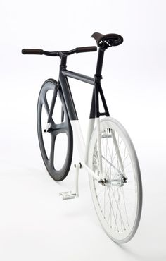 Check this out on leManoosh.com: #Bicycle #Black #Dipped #glossy #Material Break #Matte #Sport #White