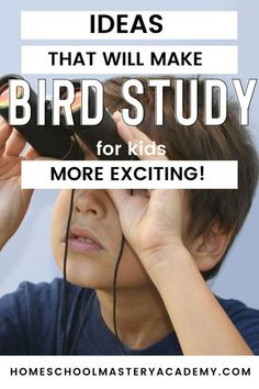 Does bird study sound boring to your kids? You definitely need these ideas! We know how to make bird study exciting. #birdstudy #birdstudyforkids #backyardbirdcount #homeschool Homeschool Curriculum Reviews, Science Curriculum, Homeschool High School, Homeschool Kindergarten, Science Lessons, Science Activities, Homeschool Coop, Nature Activities, Family Activities