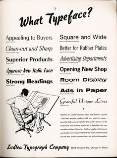 Print Mag: Vintage Fonts: 35 Adverts From the Past
