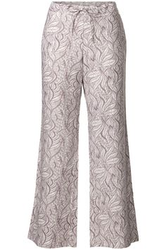 Ethnic Light | Summer collection | Pants | Wide | Print  | Taupe