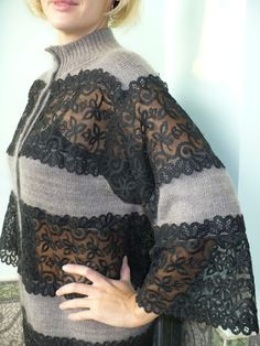 Knit Fashion, Fashion Sewing, Womens Fashion, Chic Outfits, Fashion Outfits, Trendy Tops For Women, Couture, Sewing Clothes, Slow Fashion
