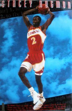 Stacy Augmon Basketball Legends, Atlanta Hawks
