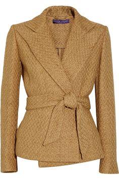 ralph lauren collection basketweave jacket